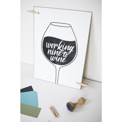 Print 'Working nine to wine' printintin